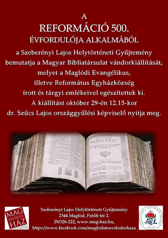 2017.10.29. A reformáció 500. évfordulója