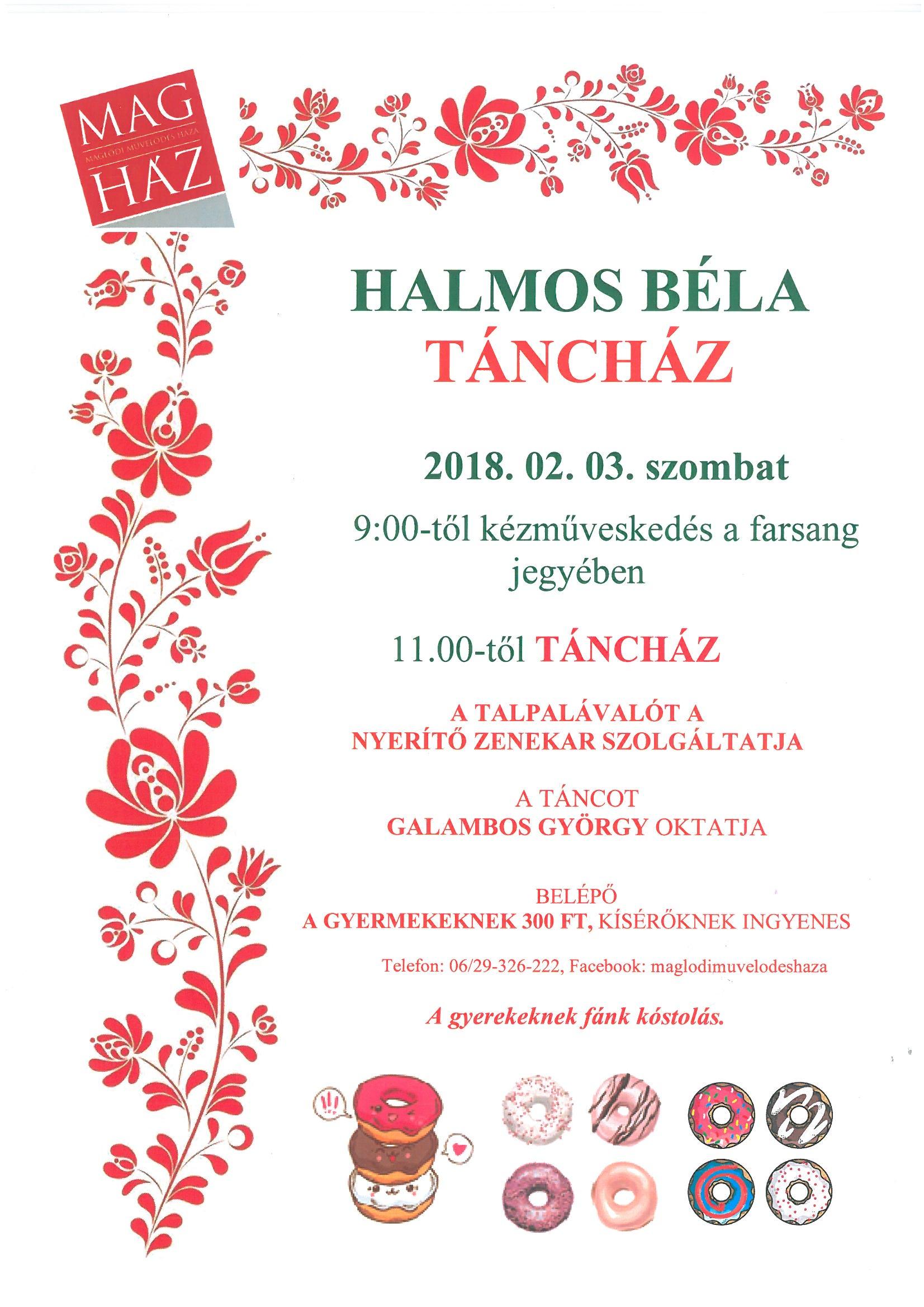 2018.02.03. Farsangi táncház és kézműveskedés