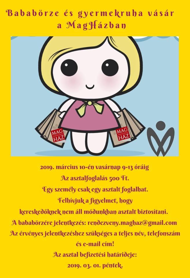 2019.03.10 Bababörze és gyermekruha-vásár