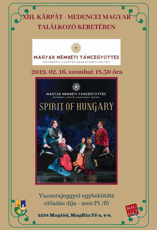 2019.02.16. A Magyar Nemzeti Táncegyüttes előadása