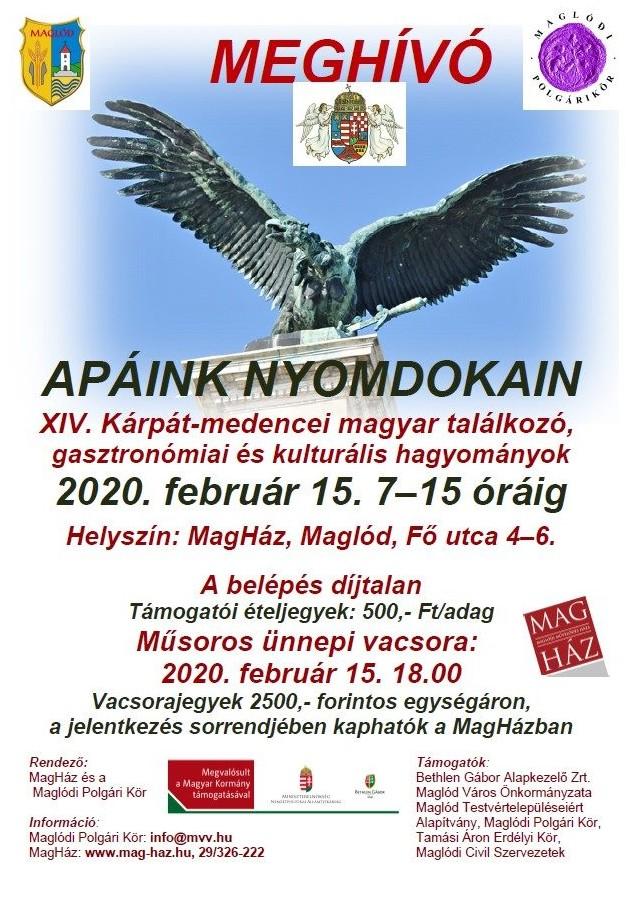 2020.02.15. Apáink nyomdokain - XIV. Kárpát-medencei magyar találkozó