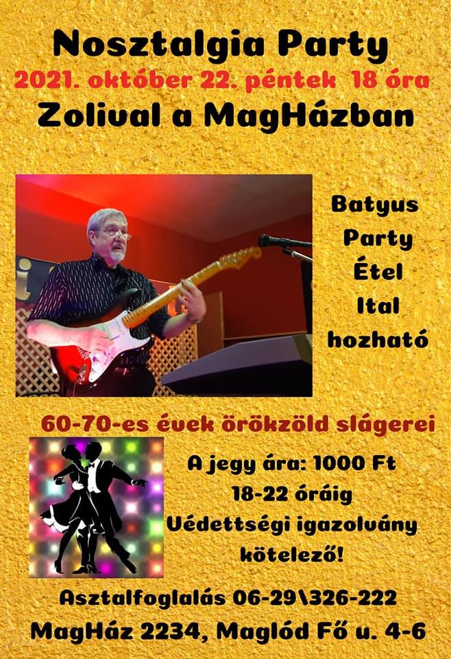 2021.10.22. Nosztalgia party